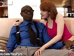 Redhead Teen Wants Stepdads Big...