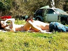 HD TEEN SUNBATHING SPY CAM...