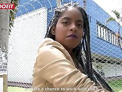 LETSDOEIT - Ebony Latina Tricked...