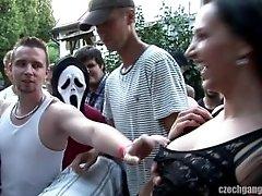Czech gangbang part 1