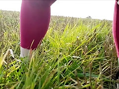 Pissing in a Field