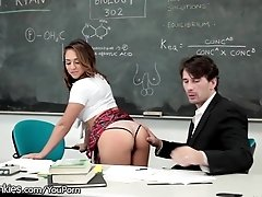 Sara Luvv Spanked and Plowed by...