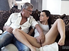 xhamster DADDY4K. Raven-haired angelface...