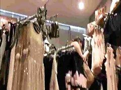 Teen Upskirt In Lingerie Store...