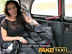 FakeTaxi Petite young thief pays...