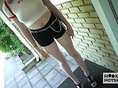 Teen cutie Hazel Moore gets anal...
