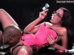 smoking fetish-emma B-2.