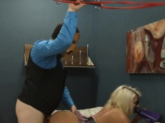 Submissive BDSM deepfucking with...