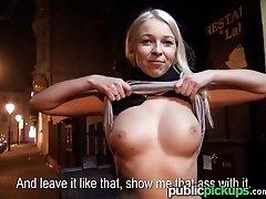 Mofos - Euro babe strips in the...