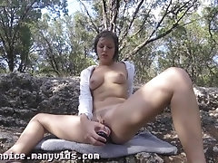 Emma Choice-Public Nude Lake Odd...