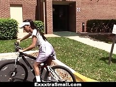 ExxxtraSmall - Cute Biker Learns...
