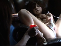 xhamster Chick shifts her panty and...